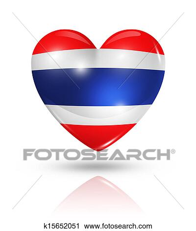 Clipart amour tha lande coeur drapeau ic ne - Clipart amour ...