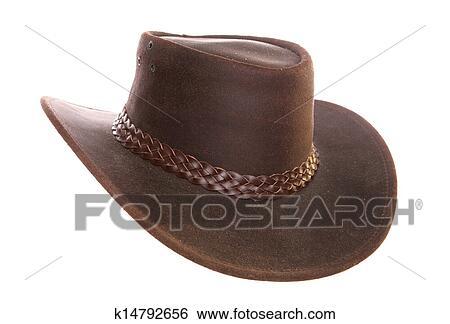 Banque K14792656 AustralienCuirChapeau AustralienCuirChapeau Banque K14792656 D'images Cowboy Cowboy D'images QrxBCohdts