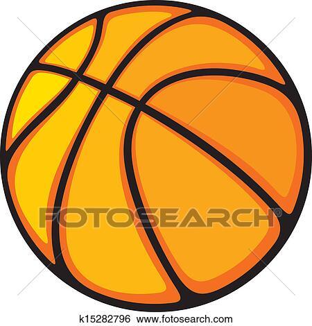 Basketball Ball Clip Art K15282796 Fotosearch