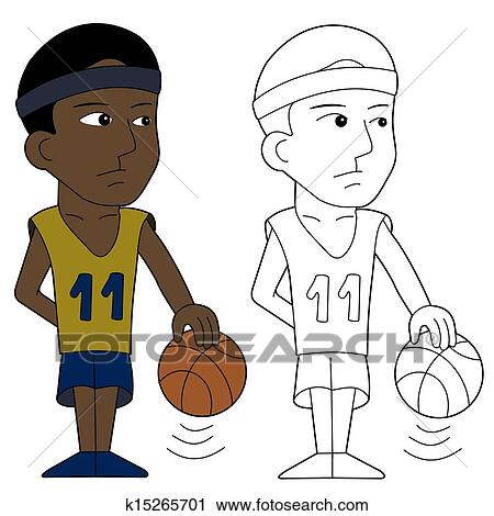 Klipart Basketball Player Kresleny Film K15265701 Prehľadavaj