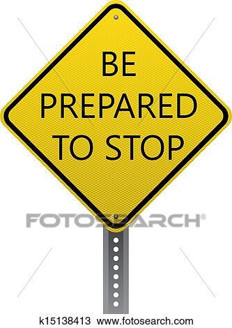 Be Prepared Clip Art