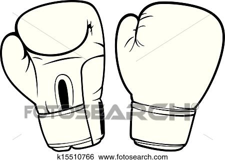 clip art of boxing gloves k15510766 search clipart illustration rh fotosearch com boxer gloves clipart boxing gloves clipart