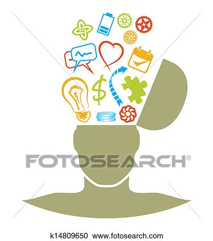 clipart of brainstorming k14809650 search clip art illustration rh fotosearch com brainstorming clipart brainstorming clipart free