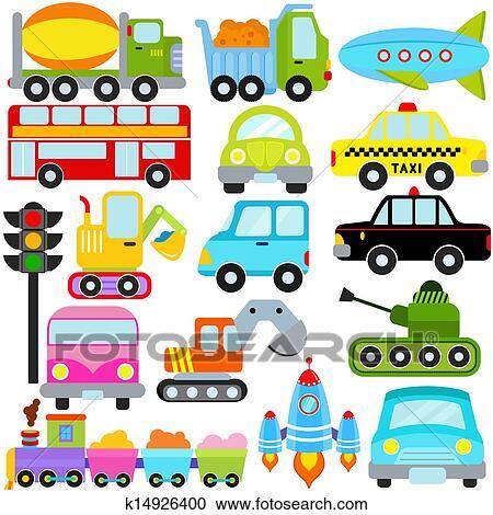 Car Vehicles Transportation Clipart K14926400