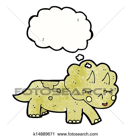 Triceratops Clip Art - Royalty Free - GoGraph