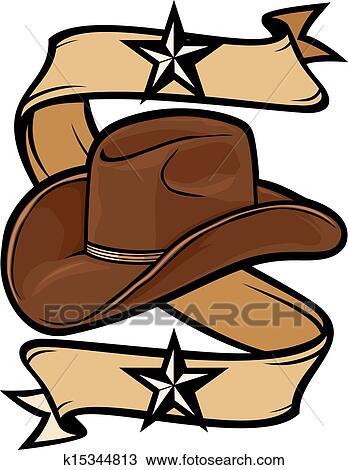 Clipart - chapéu vaqueiro 21992790700