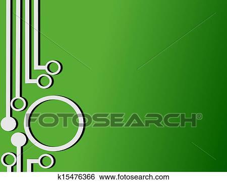 Circuit Board Wallpaper Stock Illustration K15476366