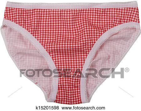 6983cb719535 Cotton panties isolated on white background Stock Photo | k15201598 ...