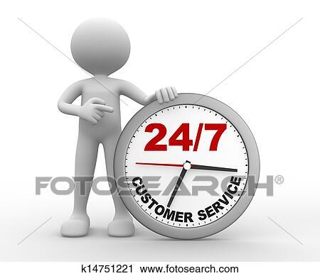 clipart of customer service k14751221 search clip art rh fotosearch com customer service clipart customer service clipart