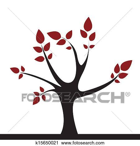 Cute Tree Clipart K15650021 Fotosearch