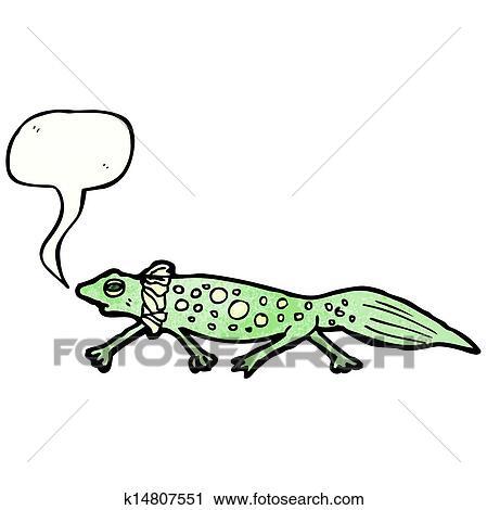 Dessin Salamandre clipart - dessin animé, salamandre k14807551 - recherchez des clip