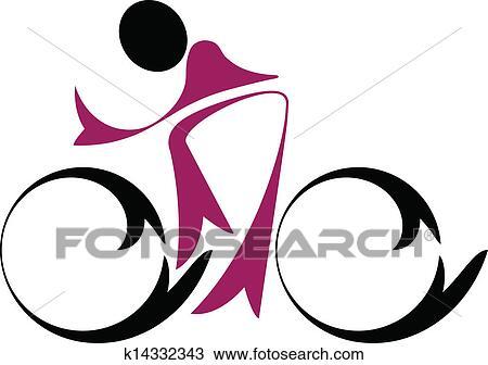 clipart estrada ciclista k14332343 busca de ilustrações clip