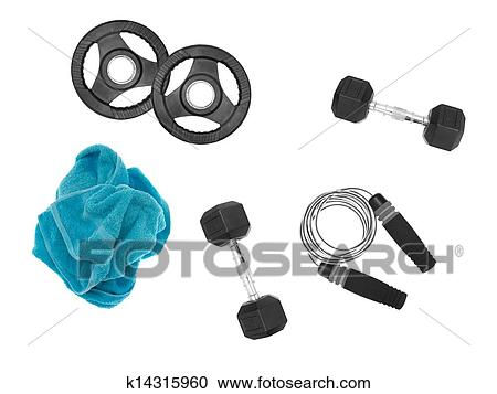 Exercise Equipment Clipart K14315960 Fotosearch