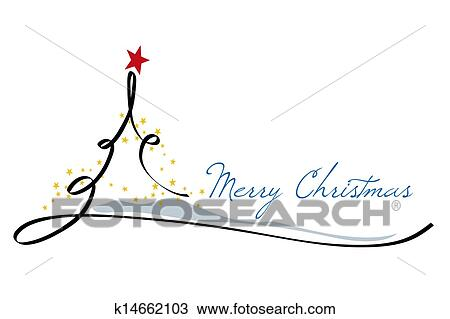Feliz Natal Desenho K14662103 Fotosearch
