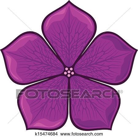 Clipart Fleur Violette K15474684 Recherchez Des Clip Arts Des