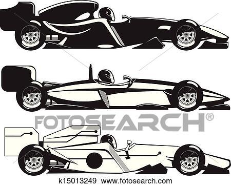 clip art of formula 1 k15013249 search clipart illustration