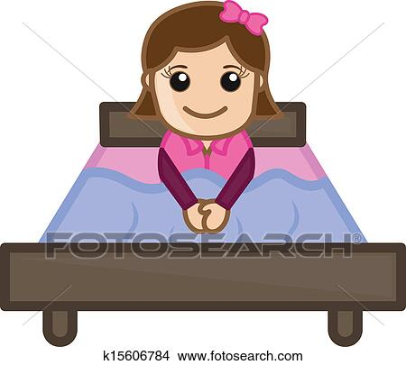Little Boy Wakes Up In The Morning Boy Sitting On The Bed.Vector.. Royalty  Free Cliparts, Vectors, And Stock Illustration. Image 140812217.