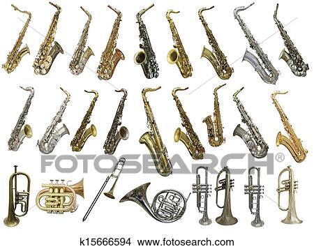 Instrumentos De Viento Dibujo