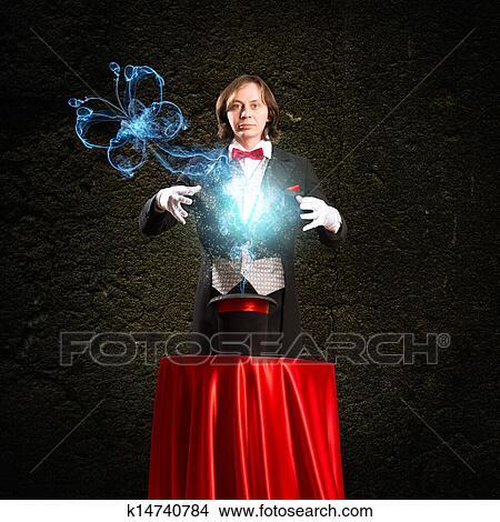 Dessins magicien causes les magie dehors de les chapeau k14740784 recherche de clip - Dessin de chapeau de magicien ...