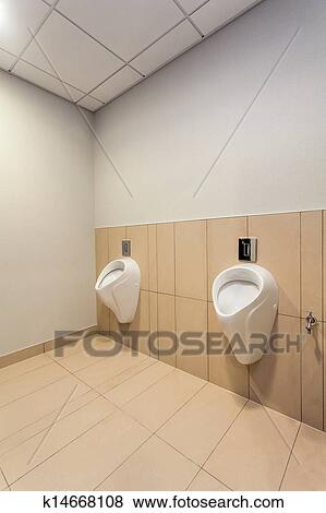Mens Toilet Stock Photo K14668108 Fotosearch