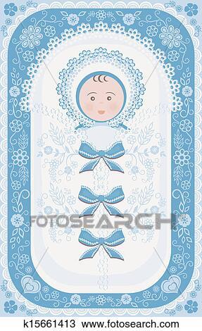 Congratulations New Baby Boy Clipart
