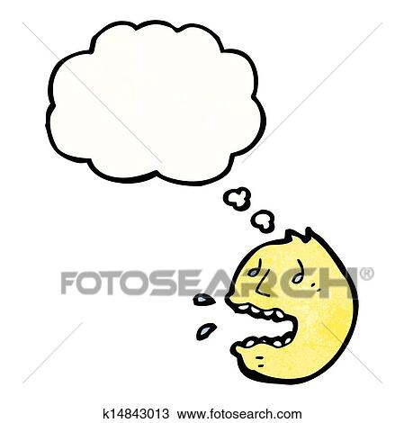 Clipart Of Panic Face Symbol K14843013 Search Clip Art