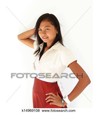Portrait Of Asian Teen Stock Photo K14969108 Fotosearch Watch drama online in high quality. portrait of asian teen stock photo