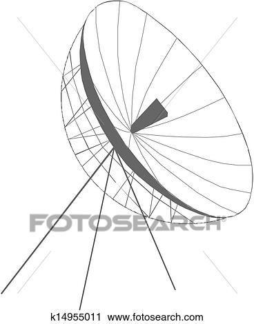 clipart of satellite dish vector k14955011 search clip art Flat Satellite Dish Antenna clipart satellite dish vector fotosearch search clip art illustration murals drawings