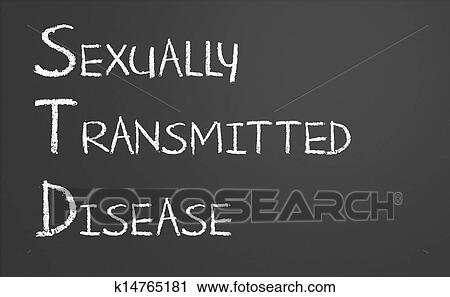 Sexually transmitted diseases clip art