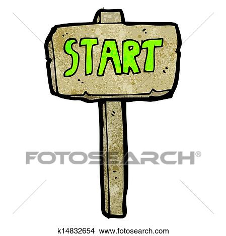 clipart of start sign cartoon k14832654 search clip art rh fotosearch com star clipart that i can copy star clip art images