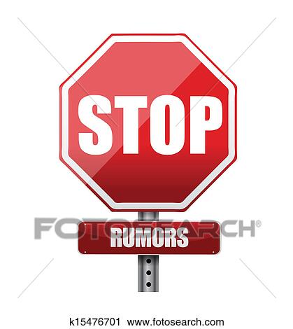 clipart of stop rumors road sign illustration design k15476701 rh fotosearch com stop sign graphic art stop sign graphics morrisville