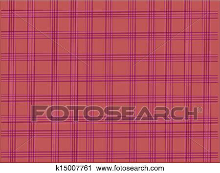 Clipart Of Tablecloth Check Pattern K15007761 Search