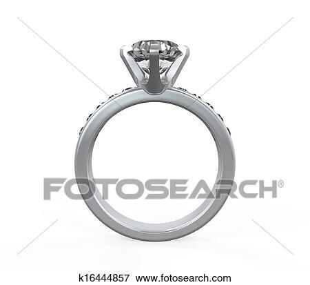ダイヤモンド 結婚指輪 イラスト K16444857 Fotosearch
