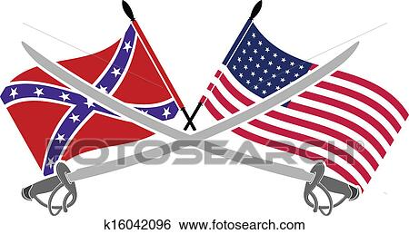 clip art of american civil war k16042096 search clipart rh fotosearch com civil war cannon clipart civil war clipart black and white