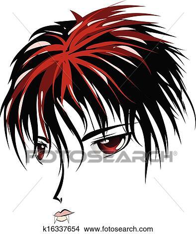 Anime Vampire Face Clipart K16337654