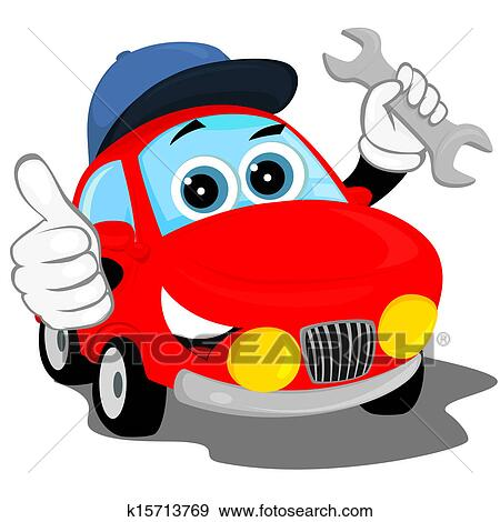 clip art of auto repair k15713769 search clipart illustration rh fotosearch com Auto Glass Clip Art car repair clipart free