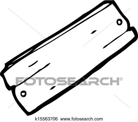 clip art of cartoon plank of wood k15563706 search clipart rh fotosearch com wood grain clip art templates for free wood grain clip art templates for free
