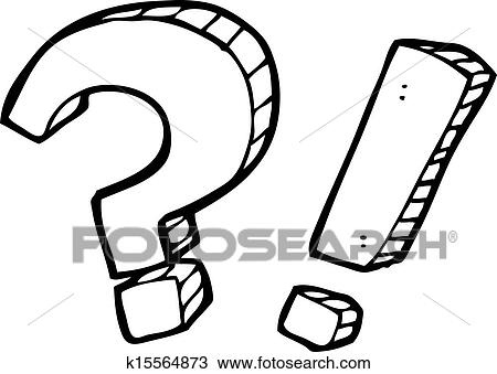 clipart of cartoon question marks k15564873 search clip art
