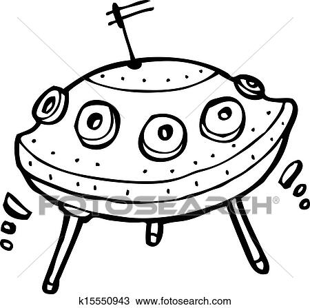Cartoon Ufo Clipart