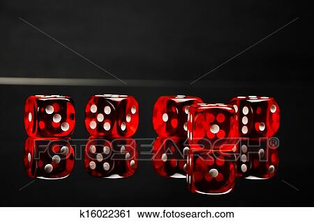 Casino Theme With Dark Background Stock Image K16022361 Fotosearch