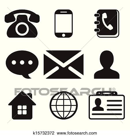 Free Contact Clip Art with No Background - ClipartKey