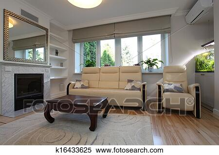 Archivio Immagini - divano, e, poltrona, soggiorno k16433625 - Cerca ...