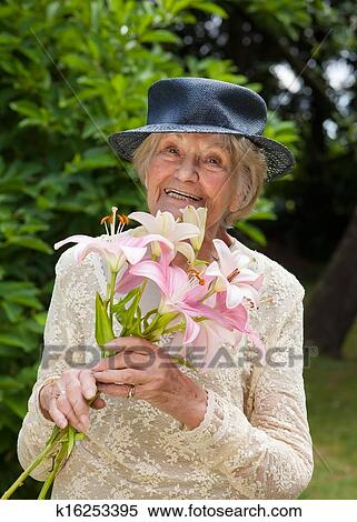 eldre dame skinnhansker dame