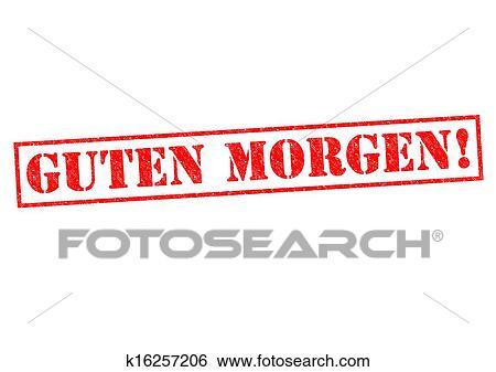 Guten Morgen معرض الفوتوغراف K16257206 Fotosearch