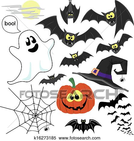 halloween vektor clipart