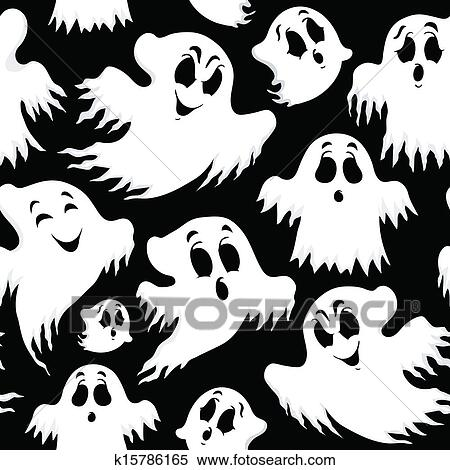 Halloween Seamless Background 5 Clipart K15786165 Fotosearch