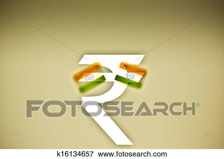 Stock Illustration Of Indian Rupee Symbol K16134657 Search Eps