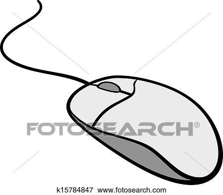 Clipart souris ordinateur k15784847 recherchez des - Souris ordinateur dessin ...