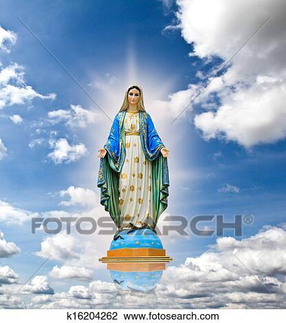 Super Vierge marie Banque de Photos et d'Images. 10 942 vierge marie  ZM94