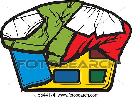 clipart of laundry basket k15544174 search clip art illustration rh fotosearch com  laundry basket clipart free